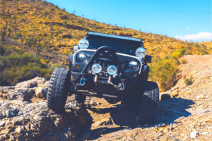 Read more about the article How do you rock crawl with a manual Jeep?