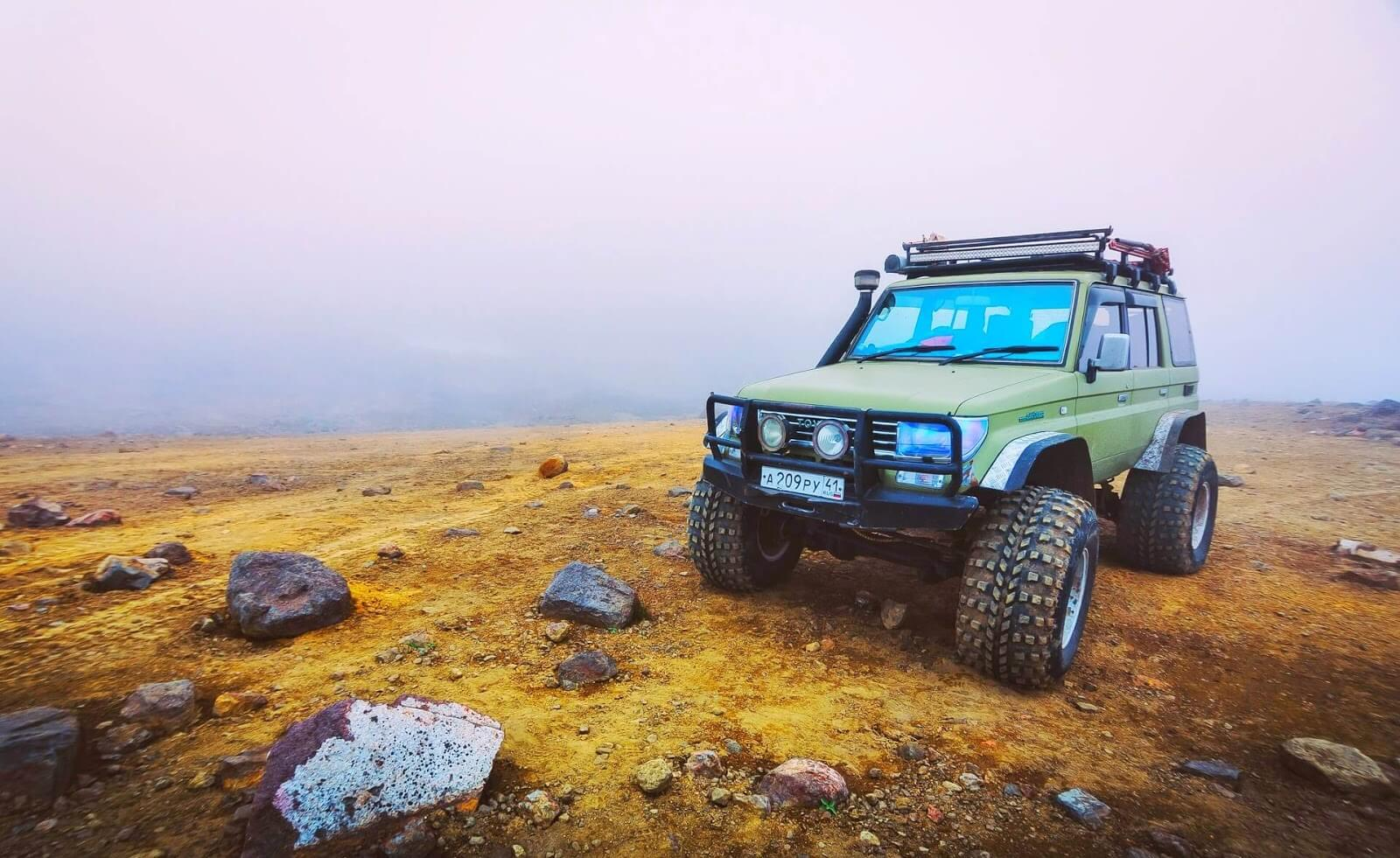 How to pick a line when off-roading?