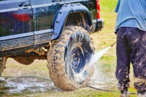 Read more about the article How to clean a jeep after mudding?   step by step jeep cleaning guide