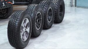 Can off-road tires be used on road?